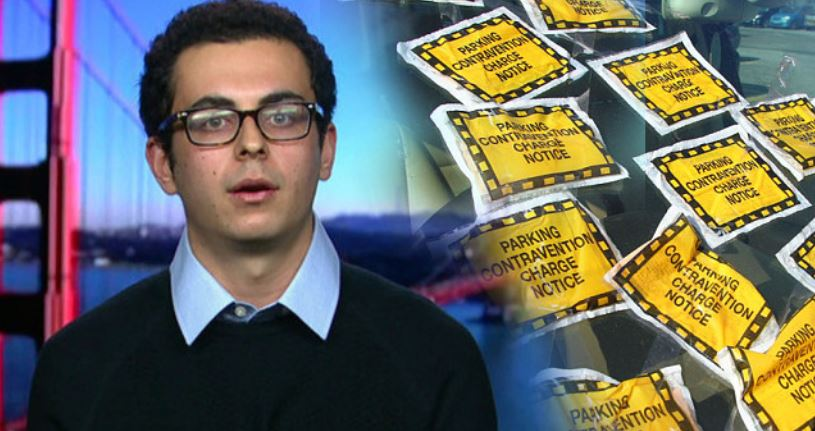 robot lawyer parking tickets